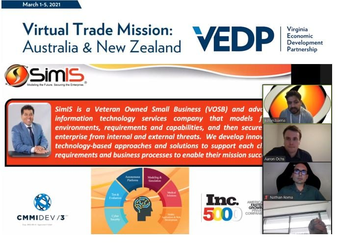 Virtual Trade Mission Australia and New Zealand graphic